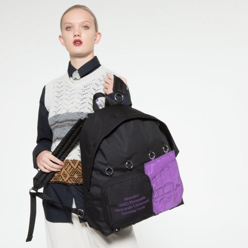 Raf Simons Padded Doubl'r Purple Quote by Eastpak - view 2