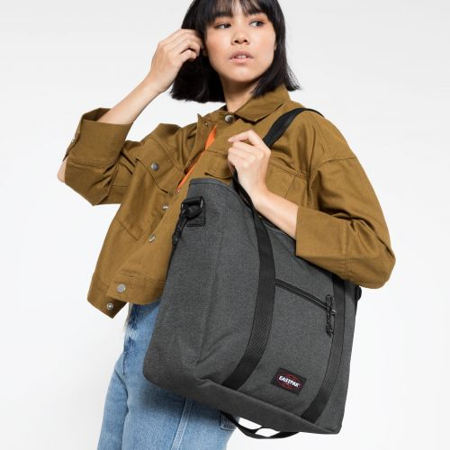 Kerr Black Denim by Eastpak - view 2