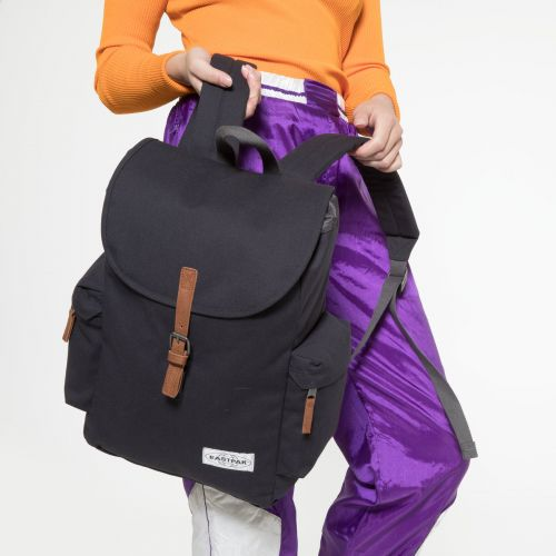 Austin Opgrade Dark Backpacks by Eastpak - view 2