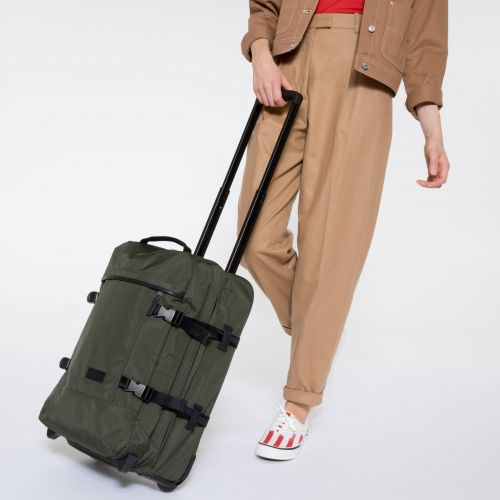 Tranverz S Constructed Khaki Luggage by Eastpak - view 2