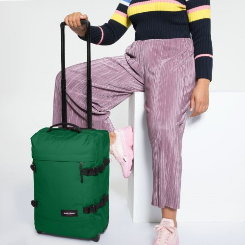 Tranverz S Tortoise Green Luggage by Eastpak - view 2