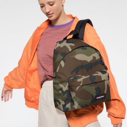 Padded Pak R Camo Backpack Eastpak