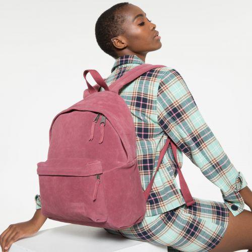 Padded Pak'r® Suede Merlot Backpacks by Eastpak - view 2