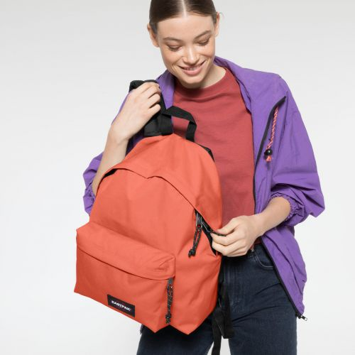 Padded Pak'r® Lobster Orange Backpacks by Eastpak - view 2