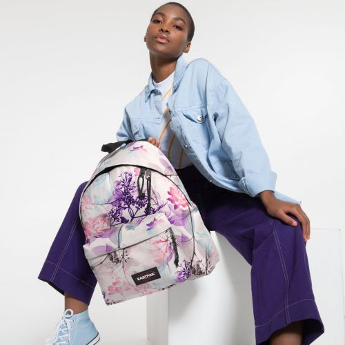 Padded Pak'r® Pink Ray Backpacks by Eastpak - view 2