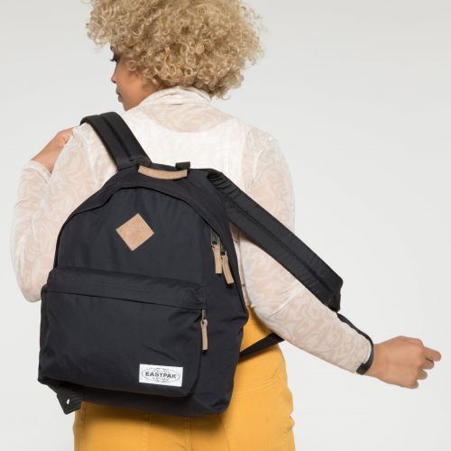 Padded Pak'r® Into Nylon Black Backpacks by Eastpak - view 2