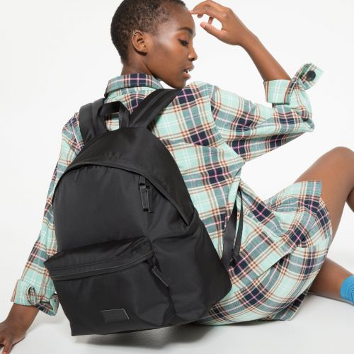 Padded Pak'r® Constructed Mono Black Backpacks by Eastpak - view 2