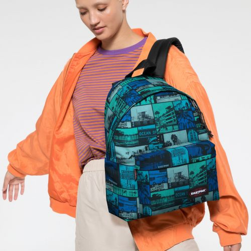 Padded Pak'r® Pix Blue Backpacks by Eastpak - view 2