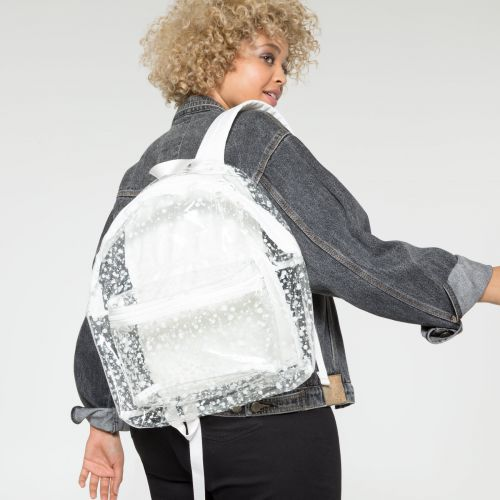 Padded Pak'r® Splash White Backpacks by Eastpak - view 2