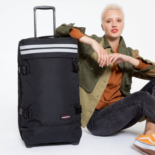 Tranverz M Reflective Black Luggage by Eastpak - view 2