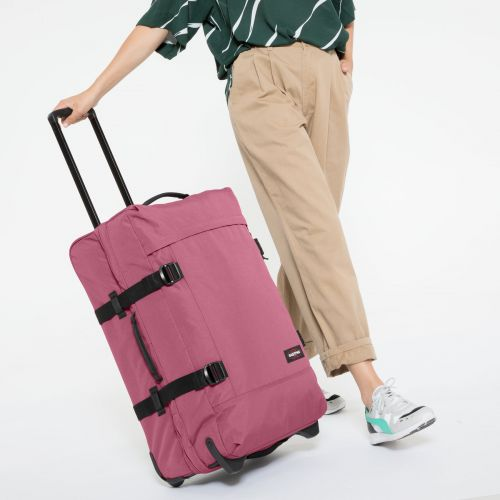 Tranverz M Salty Pink Luggage by Eastpak - view 2
