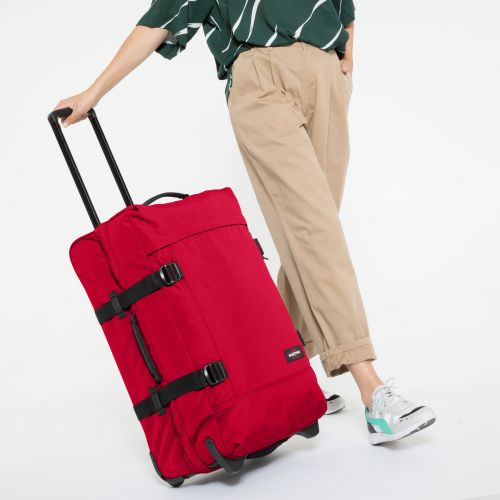 Tranverz M Sailor Red Luggage by Eastpak - view 2