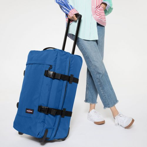 Tranverz M Mediterranean Blue Luggage by Eastpak - view 2