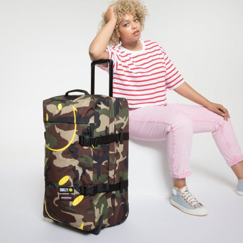 Tranverz M Smiley Camo Luggage by Eastpak - view 2
