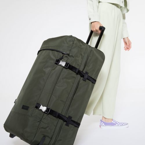 Tranverz L Constructed Khaki Luggage by Eastpak - view 2