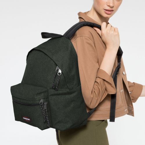 Padded Zippl'r Crafty Moss Backpacks by Eastpak - view 2
