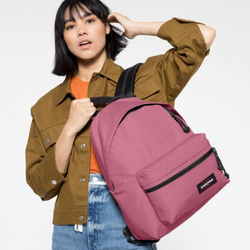 Padded Zippl'r Salty Pink Backpacks by Eastpak - view 2