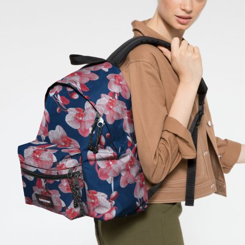 Padded Zippl'r Charming Pink Backpacks by Eastpak - view 2