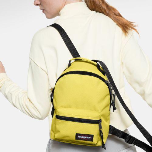 Orbit W Beachy Yellow Backpacks by Eastpak - view 2