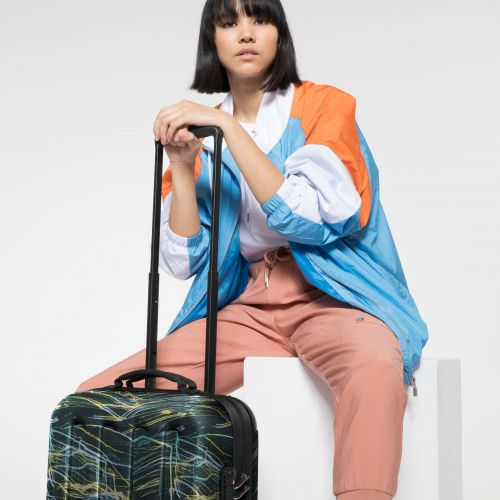 Tranzshell S Blurred Lines Luggage by Eastpak - view 2