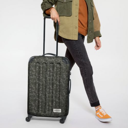 Tranzshell M Camo'ed Dot Luggage by Eastpak - view 2