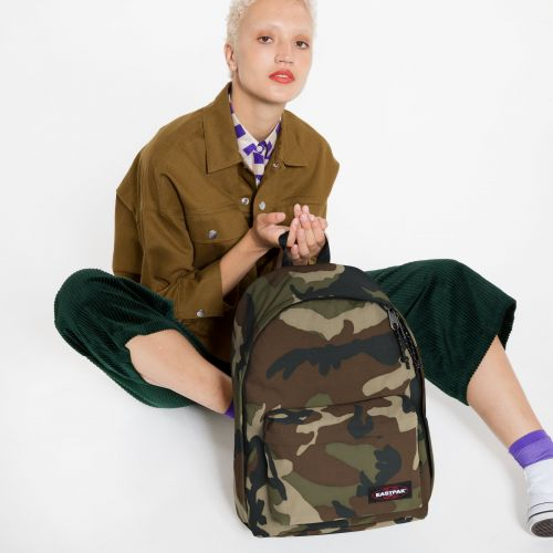 Out Of Office Camo Backpacks by Eastpak - view 2