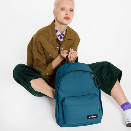 Out Of Office Horizon Blue Backpacks by Eastpak - view 2
