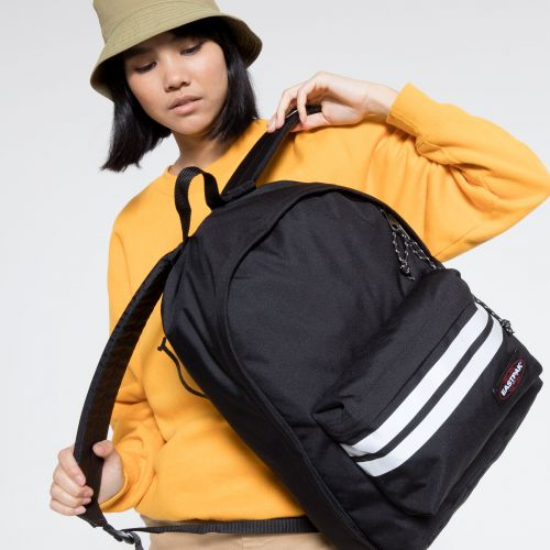 Out Of Office Reflective Black Backpacks by Eastpak - view 2
