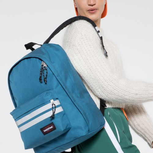 Out Of Office Reflective Blue Backpacks by Eastpak - view 2