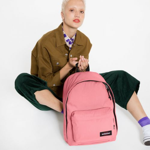 Out Of Office Seashell Pink Backpacks by Eastpak - view 2