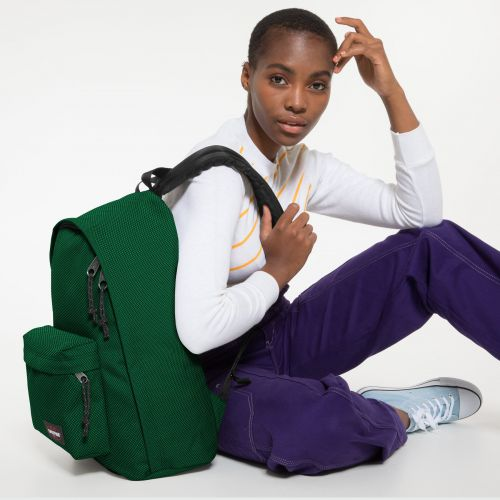 Out Of Office Meshknit Green Backpacks by Eastpak - view 2