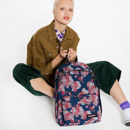 Out Of Office Charming Pink Backpacks by Eastpak - view 2
