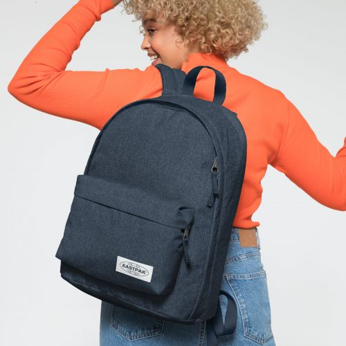 Out Of Office Muted Blue Backpacks by Eastpak - view 2