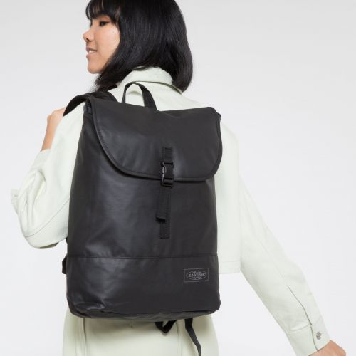 Ciera Topped Black Backpacks by Eastpak - view 2