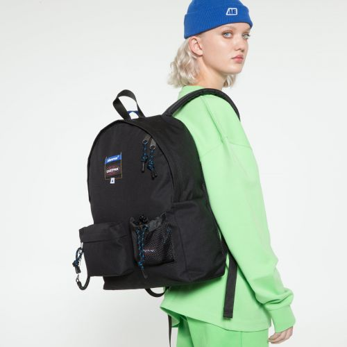 Ader Padded Black Backpacks by Eastpak - view 2