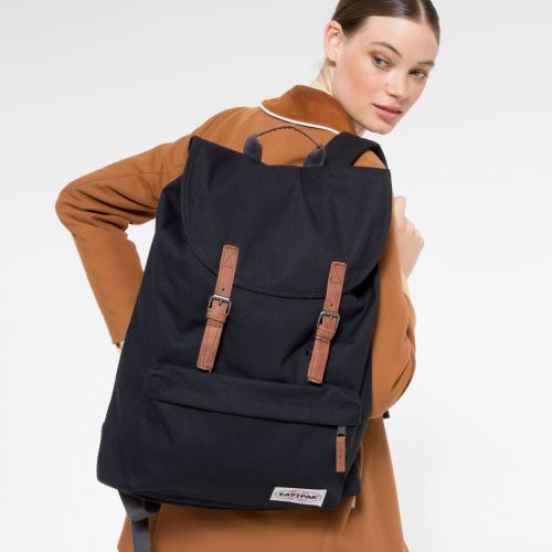 London Opgrade Black Backpacks by Eastpak - view 2