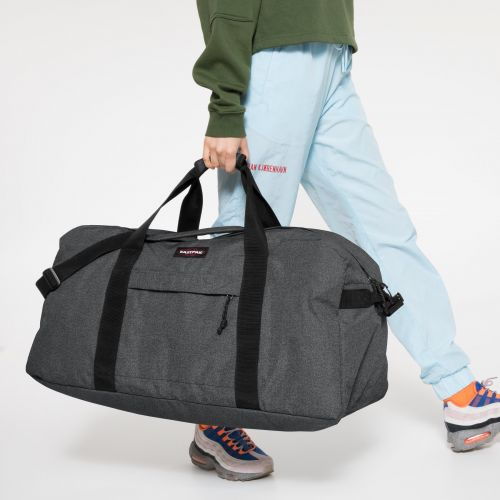 Terminal + Black Denim Luggage by Eastpak - view 2