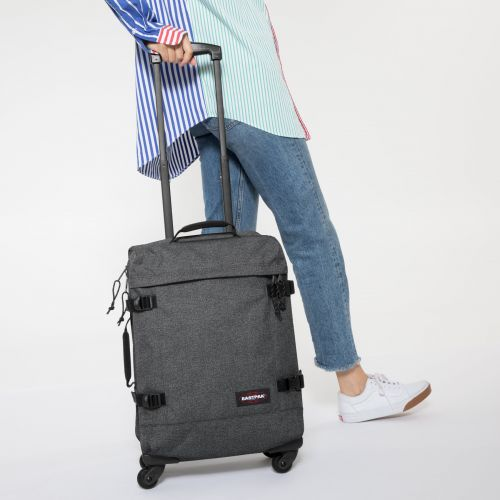 Trans4 S Black Denim Luggage by Eastpak - view 2