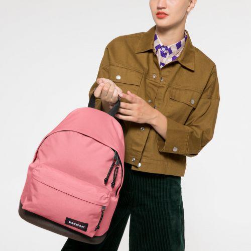 Wyoming Seashell Pink Backpacks by Eastpak - view 2