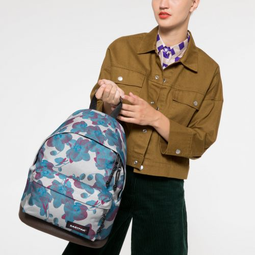 Wyoming Charming White Backpacks by Eastpak - view 2