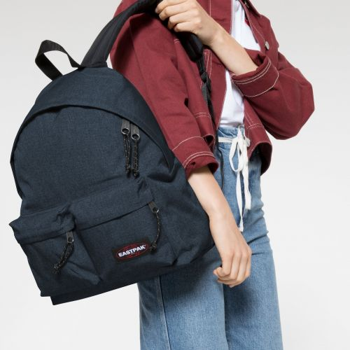 Padded Doubl'r Triple Denim  Backpacks by Eastpak - view 2