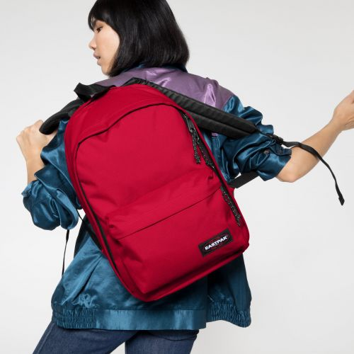 Back To Work Sailor Red Backpacks by Eastpak - view 2