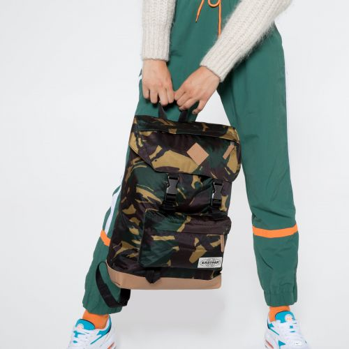 Rowlo Into Camo Backpacks by Eastpak - view 2