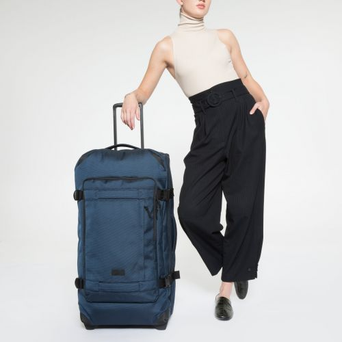 Tranverz CNNCT L Navy Luggage by Eastpak - view 2