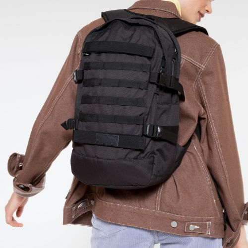Floid Tact Black Backpacks by Eastpak - view 2