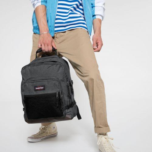 Ultimate Black Denim Backpacks by Eastpak - view 5