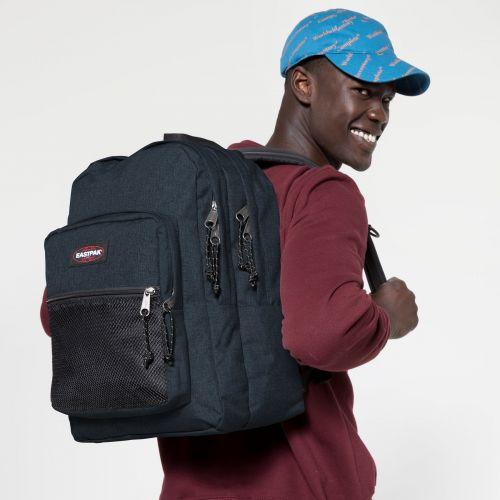 Pinnacle Triple Denim Backpacks by Eastpak - view 5