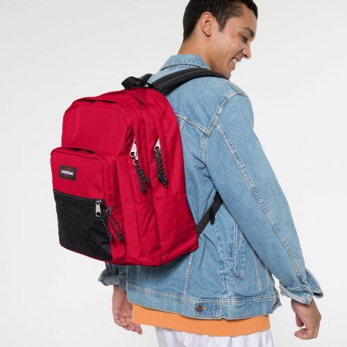 Pinnacle Sailor Red Backpacks by Eastpak - view 5