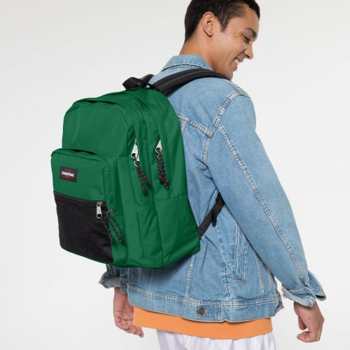 Pinnacle Tortoise Green Backpacks by Eastpak - view 5