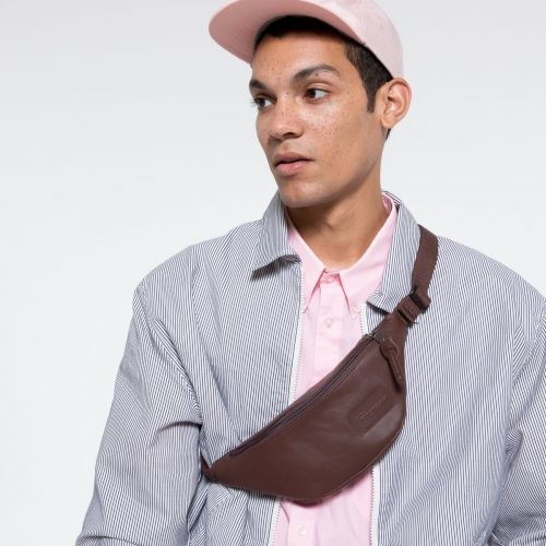 Springer Chestnut Leather Accessories by Eastpak - view 5